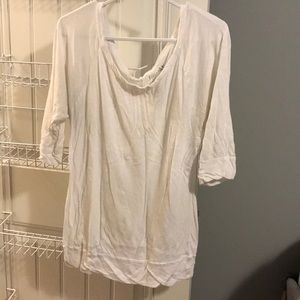 Miley Cyrus Max Azria 3/4 Sleeve Top Size XL